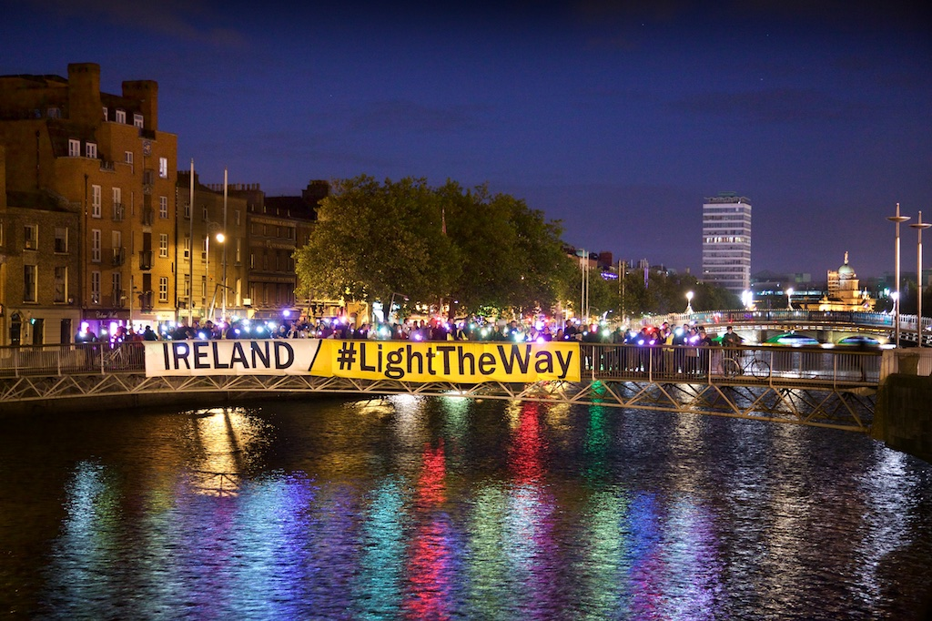 Ireland #Light The Way