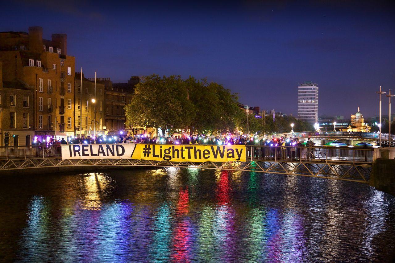 Ireland #Light The Way